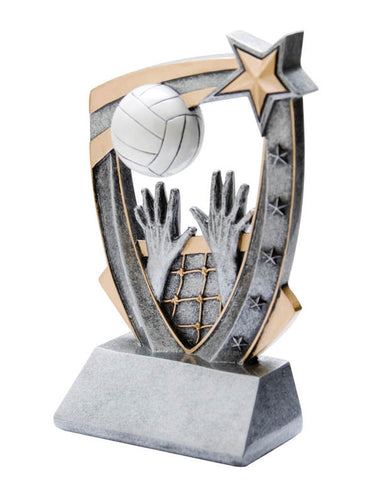Volleyball Trophy - 3-D Volleyball (A3177) - Quest Awards