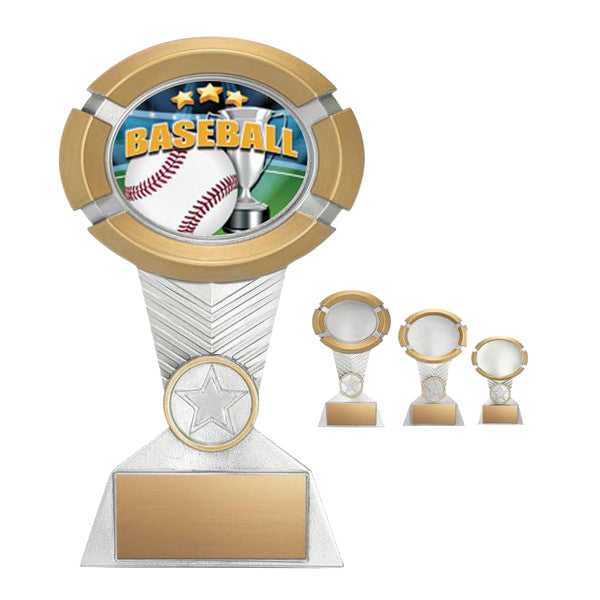 Baseball Trophy - Impact Colour - Quest Awards