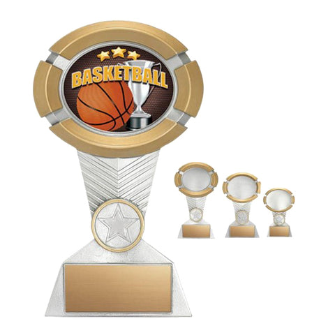 Basketball Trophy - Impact Colour (A2220) - Quest Awards