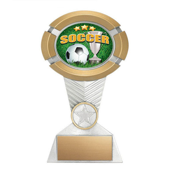 Soccer Trophy - Impact Colour (A3025) - Quest Awards