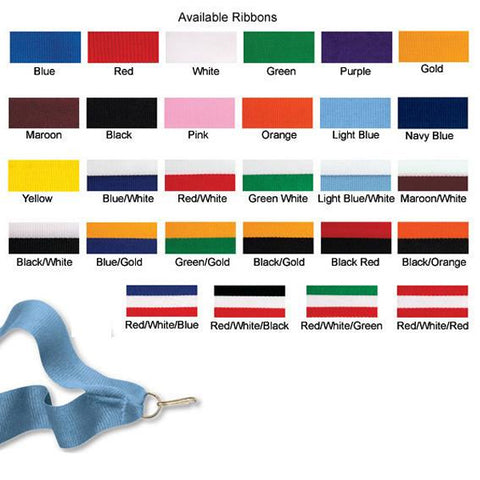 Ribbon - 1 Colour, 2 Colour and 3 Colour Ribbons (A2948) - Quest Awards