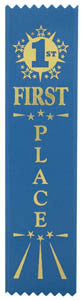 Ribbon - Placement Ribbon 1st - 5th Place - Quest Awards - 1
