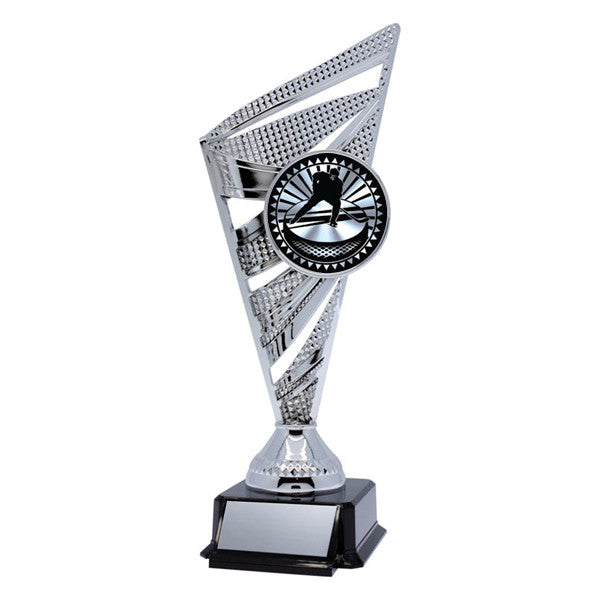 Hockey Trophy - Solar Series - Silver - 2 Sizes (A2709) - Quest Awards