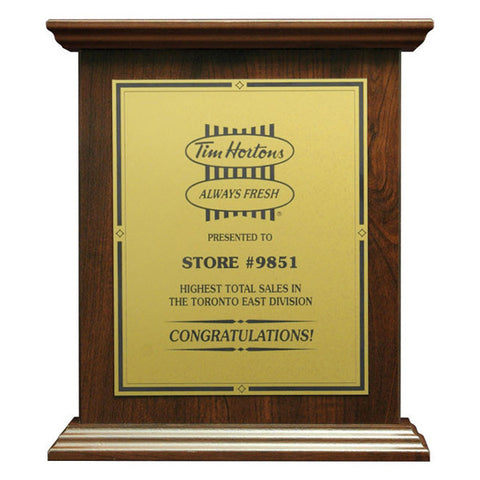 Plaque - Roman Style (A2915) - Quest Awards