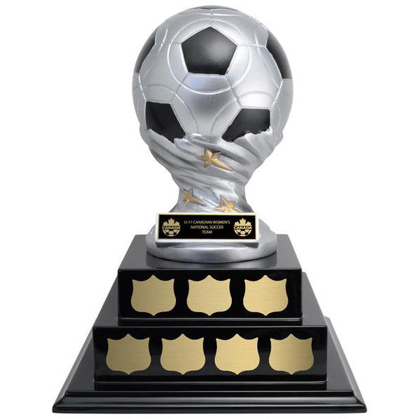Soccer Trophy - Vortex Soccer on Annual Base (A3067) - Quest Awards