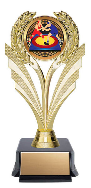 Fountain Trophy - Economy Insert Award