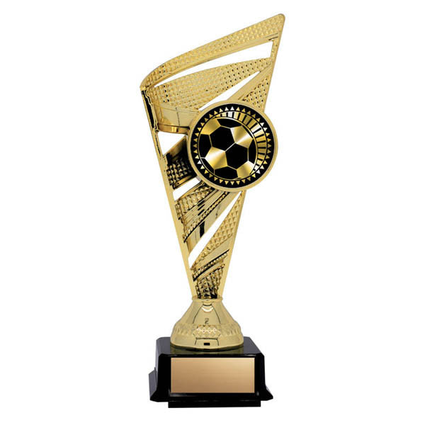 Soccer Trophy - Solar Series - Gold - 2 Sizes (A3051) - Quest Awards