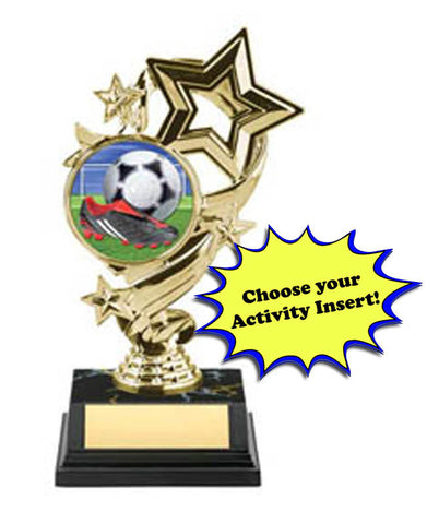 Trophy - Economy Shooting Stars Insert Award - Quest Awards