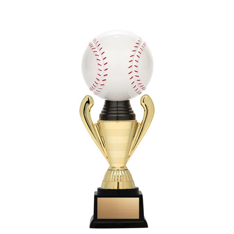 Baseball Trophy - Nexus Gold 3D Baseball (A3254) - Quest Awards