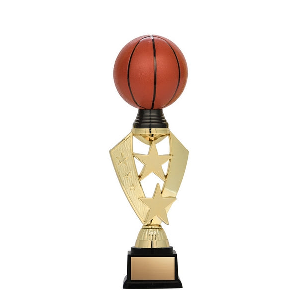 Basketball Trophy - Twister Series - Star Ball (A3219) - Quest Awards