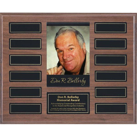 "Annual Plaque - Magnetic Picture Plaque - 12 Plates - 10 1/2"" x 13"" (A2136) - Quest Awards"