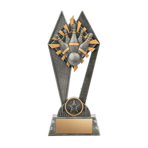 5-Pin Bowling Trophy - Peak Series (A2014) - Quest Awards
