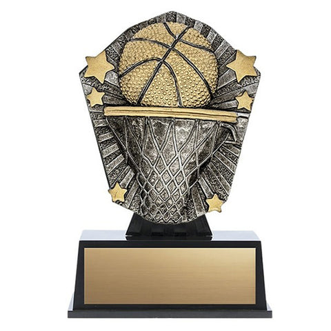 Basketball Trophy - Cosmos Mini (A3587) - Quest Awards
