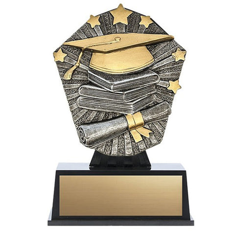 Academic Grad Trophy - Cosmos Mini (A3599) - Quest Awards
