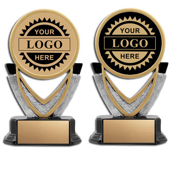 Logo Insert Trophy - Varsity - Lg (A2823) - Quest Awards