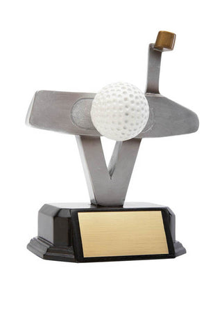 Golf Trophy - Artisan Golf Club - Putter - Quest Awards