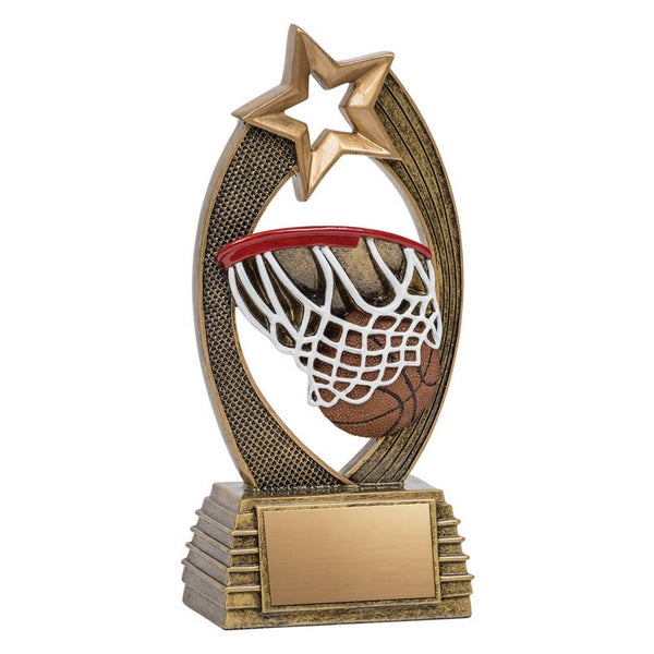 Basketball Trophy - Velocity - 2 Sizes (A3231) - Quest Awards
