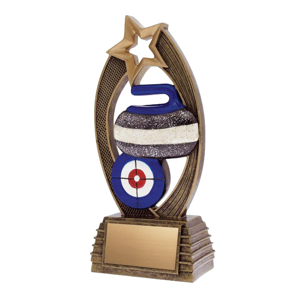 Curling Trophy - Velocity Curling (A2383) - Quest Awards
