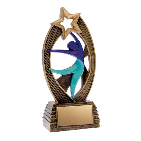 Dance Trophy - Velocity - 2 Sizes (A3237) - Quest Awards