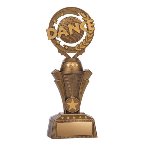 Dance Trophy - Nexus Twister - Antique Gold (A3246) - Quest Awards
