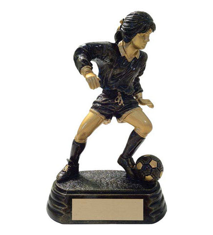 Soccer Trophy - Aztec Gold Player - Female (A3003) - Quest Awards