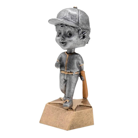 Baseball Trophy - Bobble Head - Girls (A2178) - Quest Awards