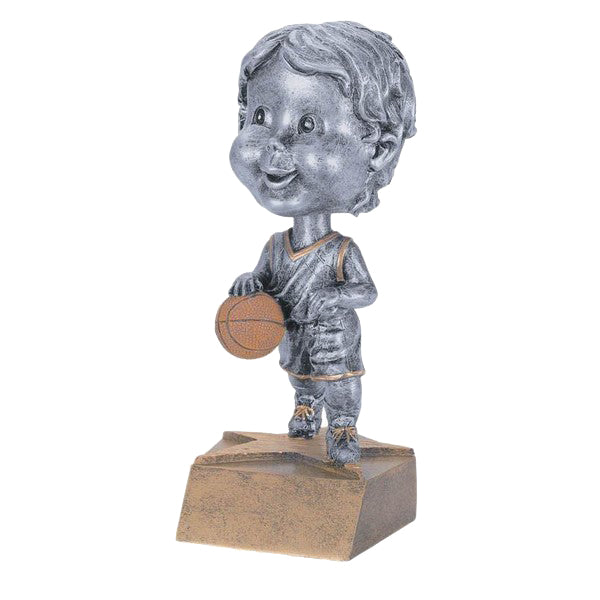 Basketball Trophy - Bobble Head - Girls (A2217) - Quest Awards