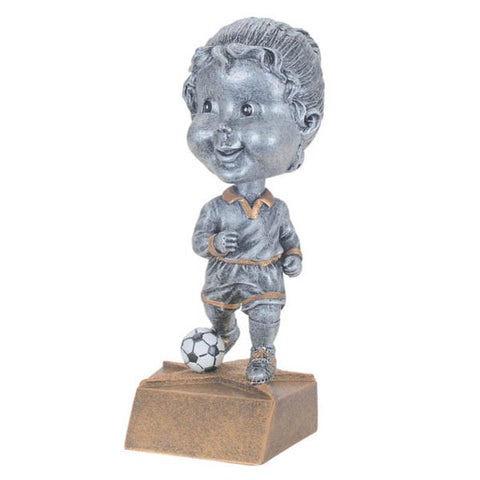 Soccer Trophy - Bobble Head - Girls (A3008) - Quest Awards