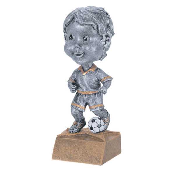 Soccer Trophy - Bobble Head - Boys (A3007) - Quest Awards
