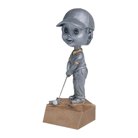 Golf Trophy - Bobble Head - Boys (A2585) - Quest Awards