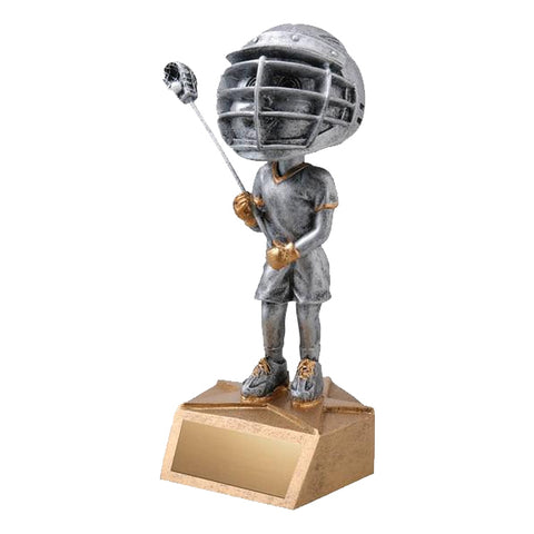 Lacrosse Trophy - Bobble Head - Boys (A2752) - Quest Awards