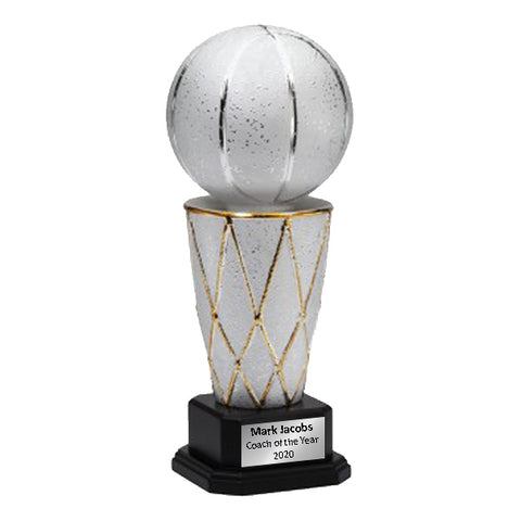Ceramic Basketball Tower Trophy - (A3733)
