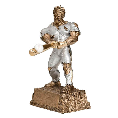 Baseball Trophy - Monster Action Hero (A2187) - Quest Awards