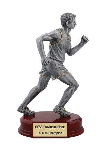 Track Trophy - Classic Male Runner - Quest Awards