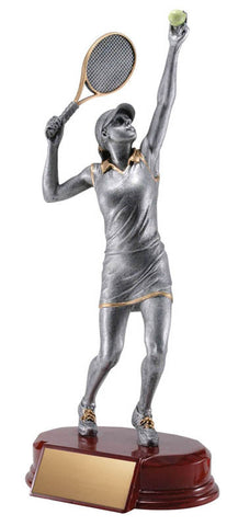 Tennis Trophy - Classic Female Tennis (A3116) - Quest Awards