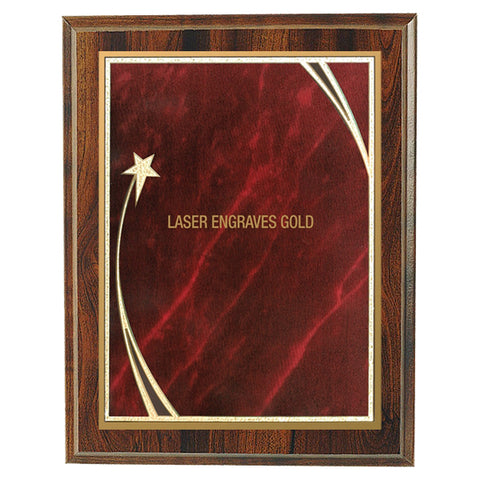 Plaques - Shooting Star Red (A3473) - Quest Awards