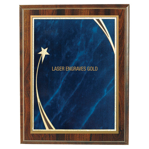 Plaques - Shooting Star Blue (A3472) - Quest Awards