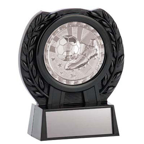 Soccer Trophy - Medal Stand Silver