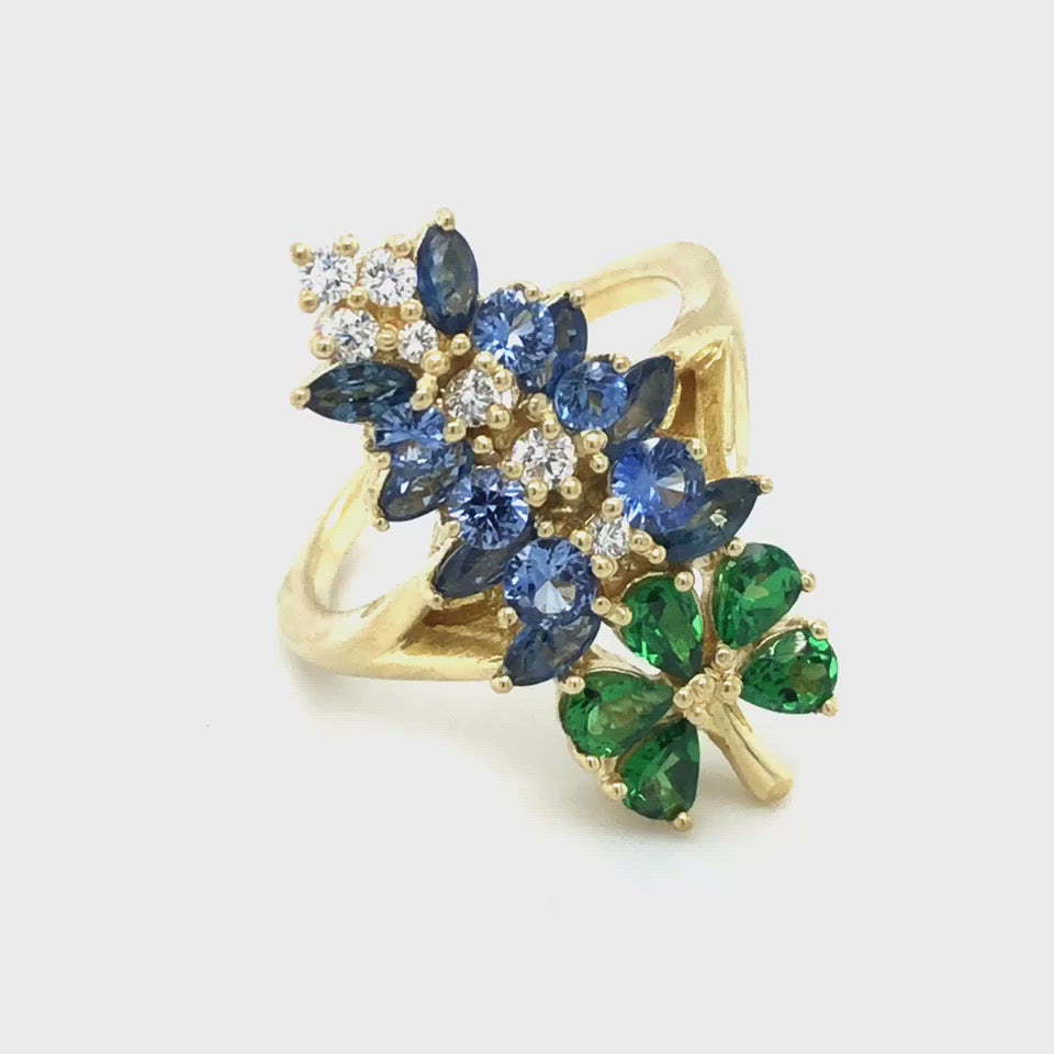 Original Texas Bluebonnet Ring at Regard Jewelry in Austin, TEXAS