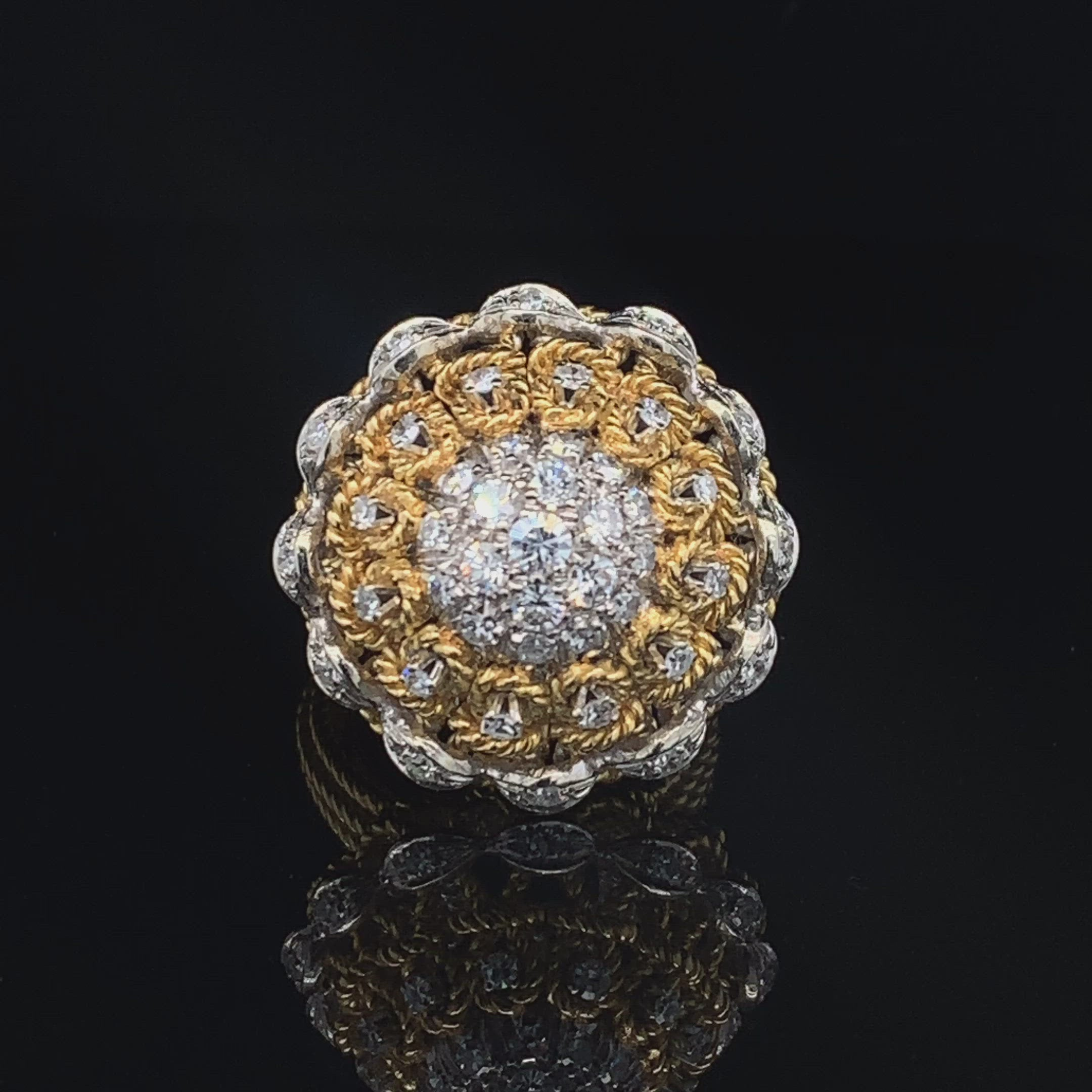 1.50CTTW DIAMONDS IN 18K GOLD RING AT REGARD JEWELRY IN AUSTIN, TX.