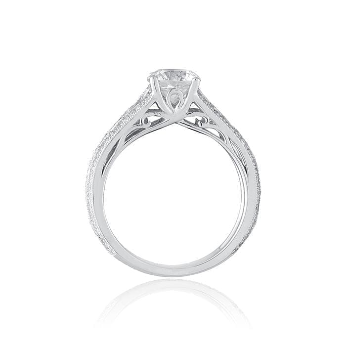 Amazing Filigree Engagement Ring by Ron Rosen at Regard