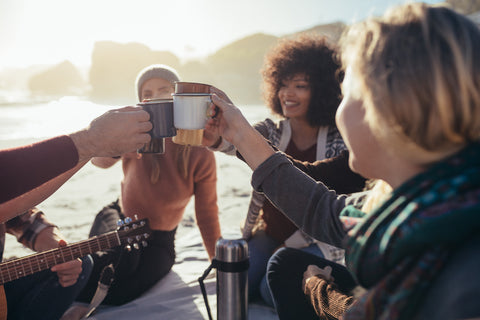 Drink Joan + Joe Coffee Cold Brew with your friends anywhere. It's delicious.