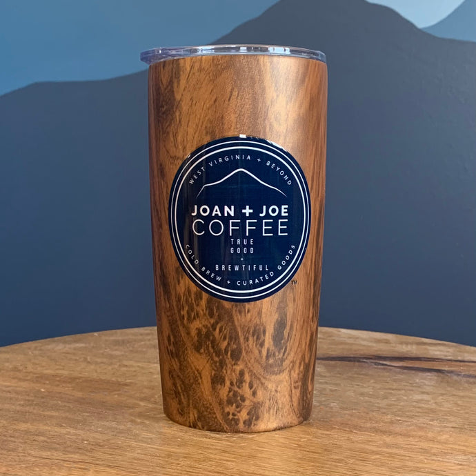 Woodgrain Insulated Joan + Joe Coffee 20oz Tumbler