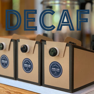 Box of Decaf Cold Brew