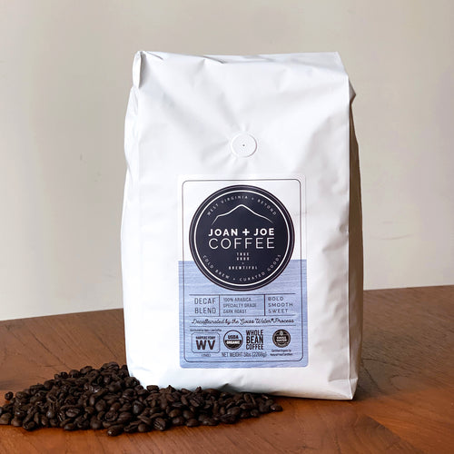 Decaf Blend - Dark Roast Organic Decaf Whole Coffee Beans 5lb