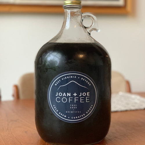 Fresh Cold Brew Growler - 1 Gallon - Comes Filled