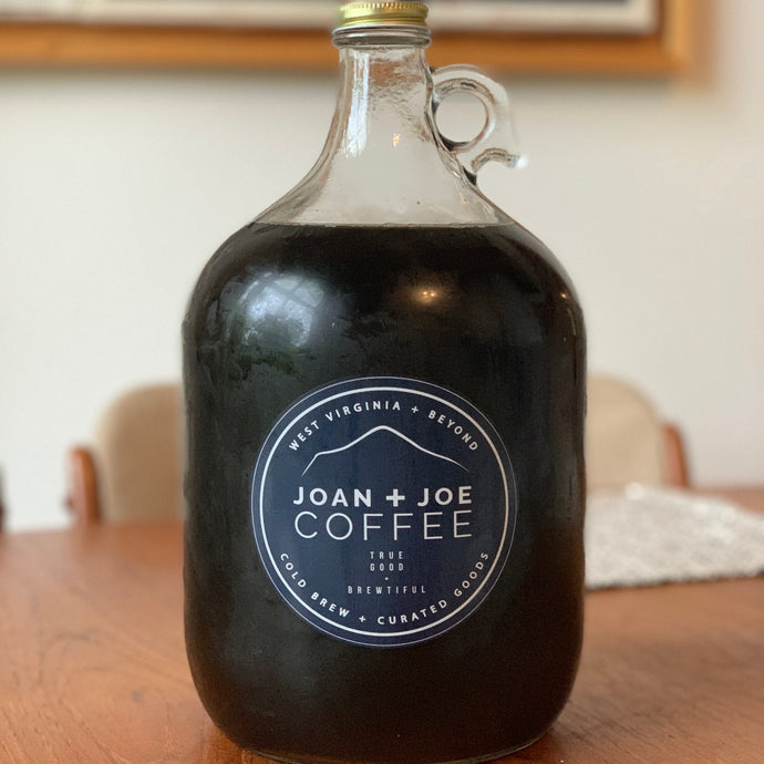 New Cold Brew Growler - 1 Gallon - Comes Filled