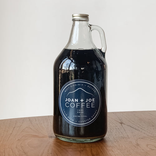 Fresh Cold Brew Growler - Half Gallon - Comes Filled