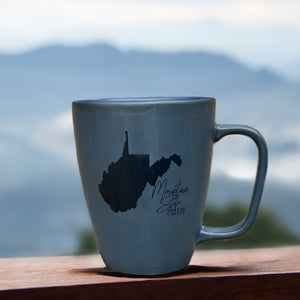 West Virginia Mountain State Coffee Cup