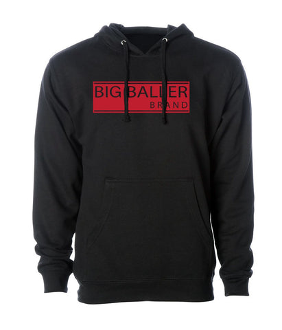 Big Baller Brand Loyalty Red Closed Bar Hoodie